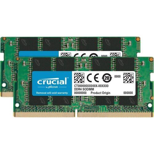 Crucial »16GB Kit (2 x 8GB) DDR4-2666 SODIMM« Laptop-Arbeitsspeicher