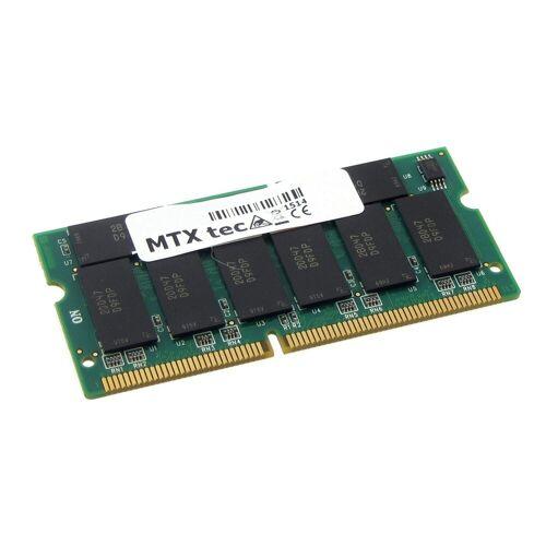 MTXtec »Arbeitsspeicher 512 MB RAM für COMPAQ Evo N600C« Laptop-Arbeitsspeicher