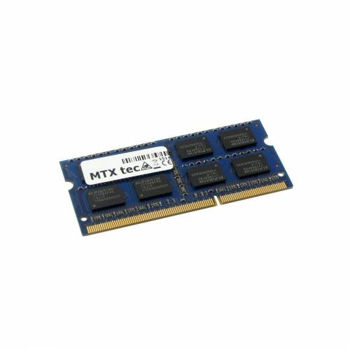 MTXtec »Arbeitsspeicher 8 GB RAM für ASUS X53S« Laptop-Arbeitsspeicher