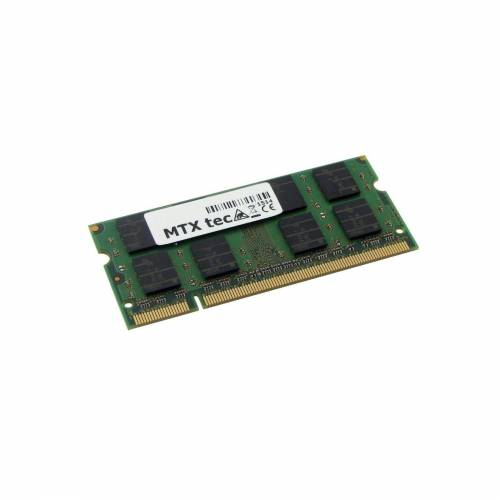 MTXtec »Arbeitsspeicher 2 GB RAM für HEWLETT PACKARD EliteBook 8530p« Laptop-Arbeitsspeicher