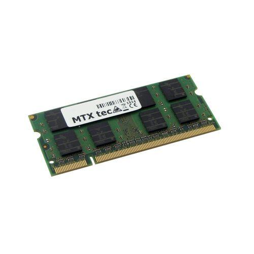 MTXtec »Arbeitsspeicher 1 GB RAM für TOSHIBA Satellite M40X-129« Laptop-Arbeitsspeicher