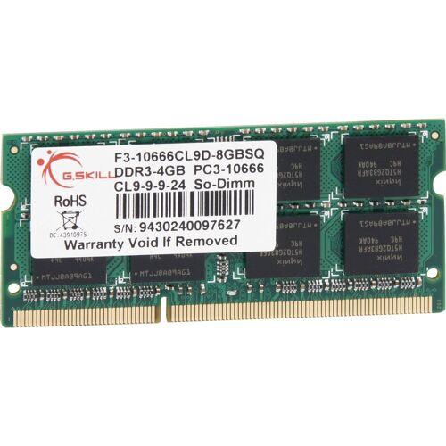 G.Skill »SO-DIMM 4 GB DDR3-1333, für MacBook Pro/iMac« Arbeitsspeicher