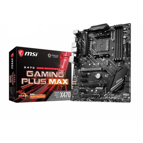 MSI »X470 GAMING PLUS MAX« Mainboard Mystic Light