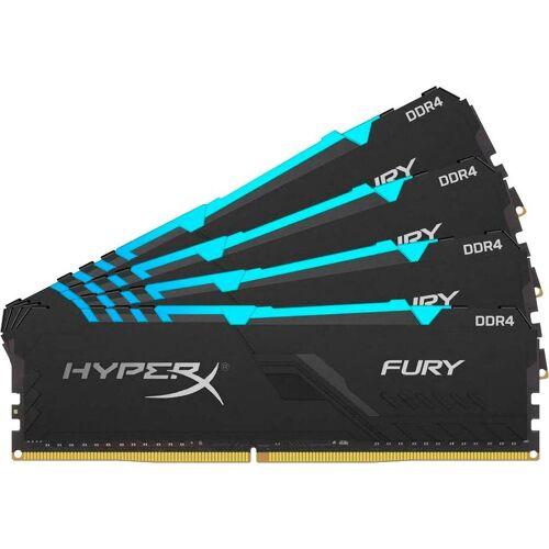HyperX »Fury RGB DDR4 3000MHZ 32GB (4x 8GB) Black« PC-Arbeitsspeicher