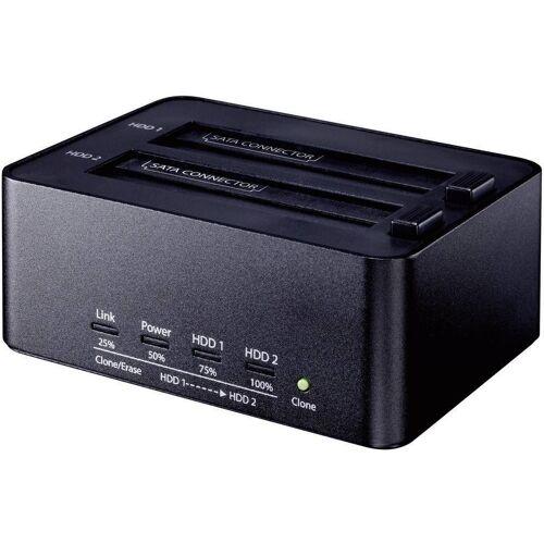 Renkforce »USB 3.0 SATA Festplatten-Dockingstation mit Clone- und Erase-Funktion« SSD (4000)