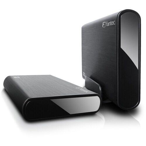 FANTEC Festplattengehäuse »Festplattengehäuse«, schwarz