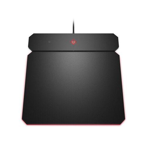OMEN Outpost Gaming Mauspad »kabelgebunden,Wireless QI Charging,RGB-Beleuchtung«, schwarz