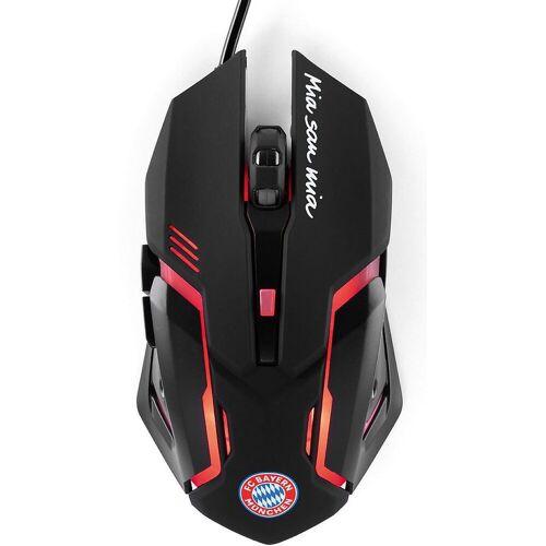 Borussia Dortmund »BVB PC Gaming Maus« Tastatur, schwarz/rot