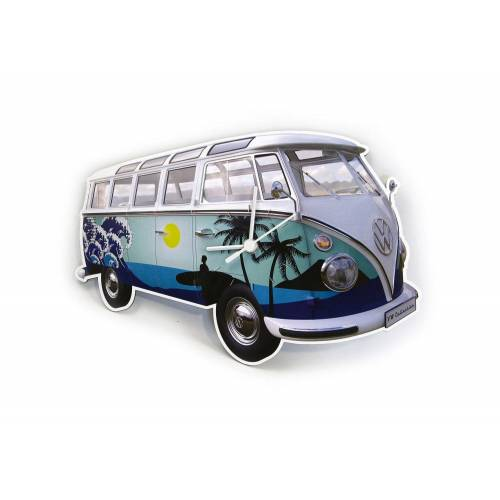 VW Collection by BRISA Wanduhr »VW Bulli T1«, Surf