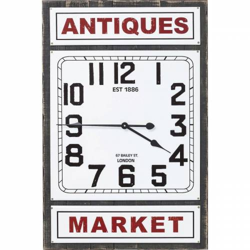 KARE Wanduhr »ANTIQUE MARKET«