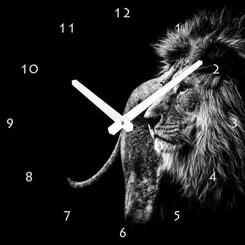 Wanduhr »Löwe«