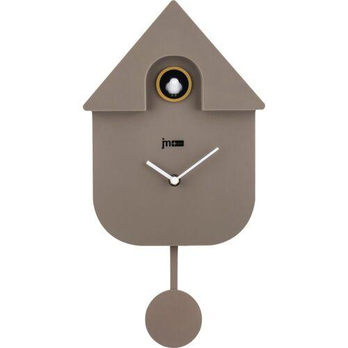 Home affaire Kuckucksuhr in modernen Stil, Höhe 42 cm, grau