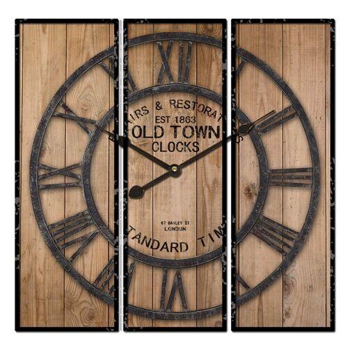 HTI-Line Wanduhr »Wanduhr Old Town«