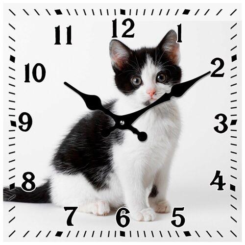 HTI-Line Tischuhr »Tischuhr Katze«