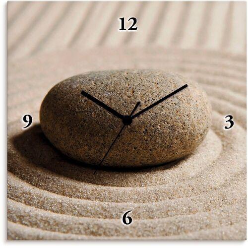 Artland Wanduhr »Mini Zen Garten - Sand«