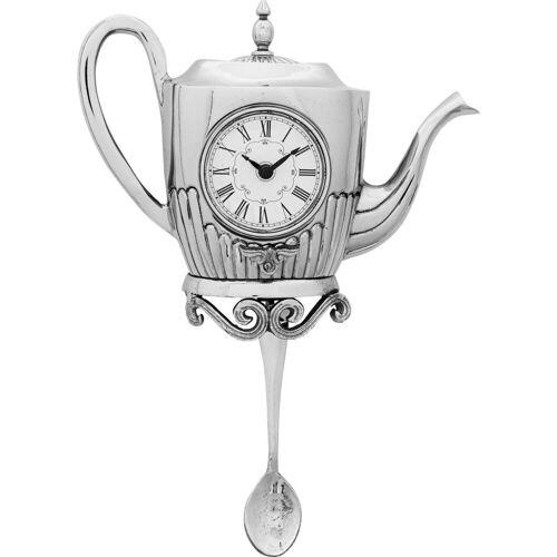 KARE Uhr »Wanduhr Tea Pot«