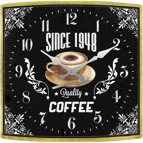 HTI-Line Tischuhr »Tischuhr Coffee«