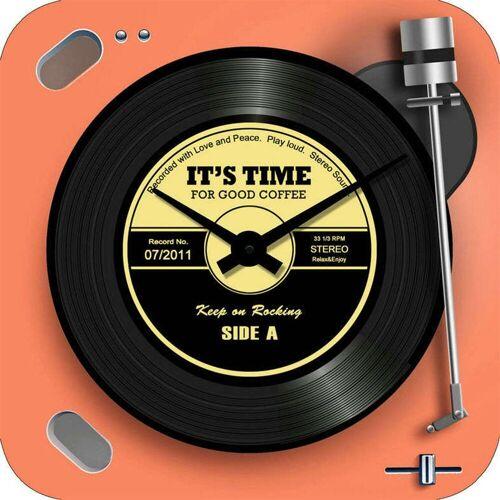 HTI-Line Wanduhr »Wanduhr Vinyl«