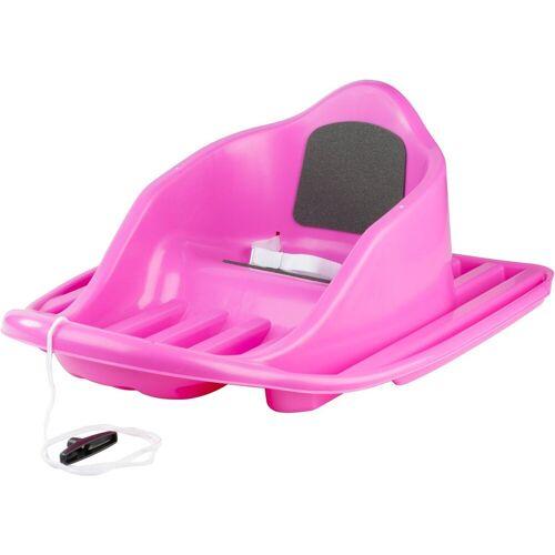 Stiga Sports Schlitten »Snow Cruiser Pink«, BxL: 53x67 cm