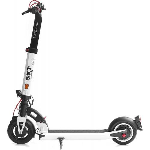 SXT Scooters E-Scooter »SXT Buddy V2 - eKFV Version -«, 350 W, 20 km/h, weiß