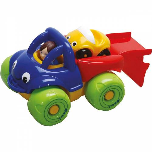 GOWI Spielzeug-Auto »Mini Truck Autotransporter Box«