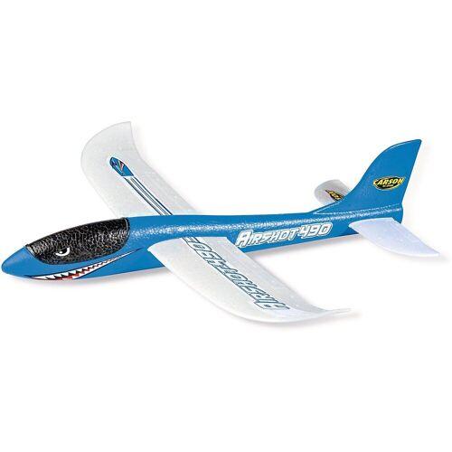 CARSON Spielzeug-Flugzeug »Wurfgleiter Airshot 490 blau«