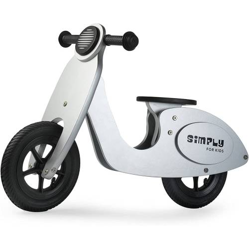 LeNoSa Laufrad »Simply Vespa-Holzlaufrad Silber«