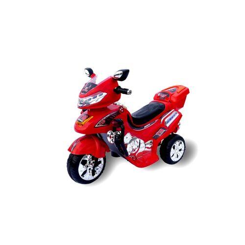 Actionbikes Motors Elektro-Kinderdreirad »Kinder Elektroauto C031«, Belastbarkeit 30 kg, Elektro Motorrad / Auto / Dreirad, Rot