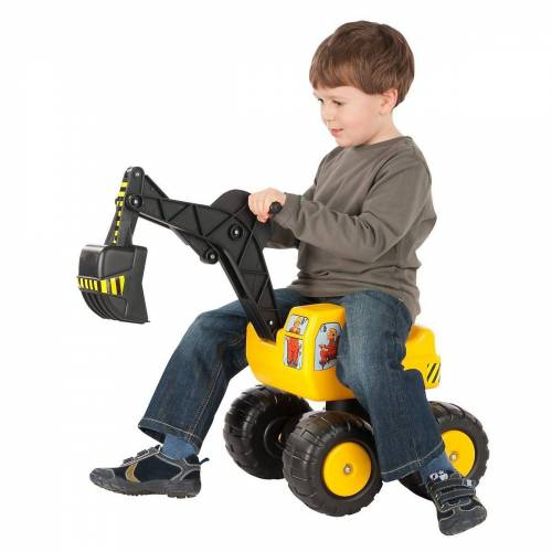 Glow2B Spielzeug-Aufsitzbagger »Sitzbagger Mobby-Dig, 72cm«