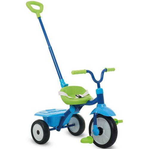 smarTrike® Dreirad »Folding Fun blau«, mit Schubstange