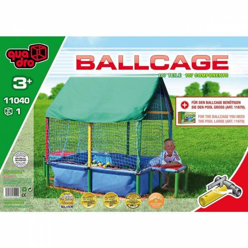 Quadro Spielzeug-Gartenset »Bällebad Ballcage«