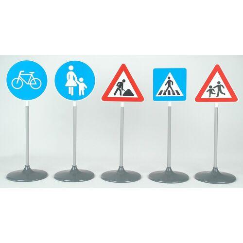 Klein Outdoor Verkehrszeichen, »Verkehrsschilder-Set B, 5 Schilder«