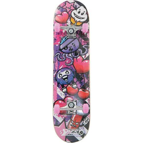 """Best Sporting Skateboard »Skateboard A3 """"Kid"""" Ocotopus«, pink"""