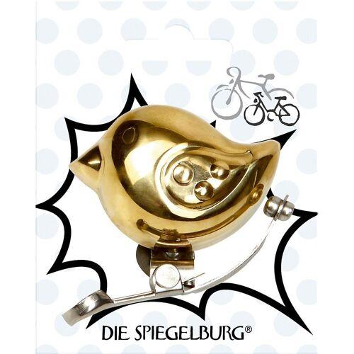 Spiegelburg Fahrradtasche »Kleine Fahrradklingel Vogel Pimp my bike! Kids«