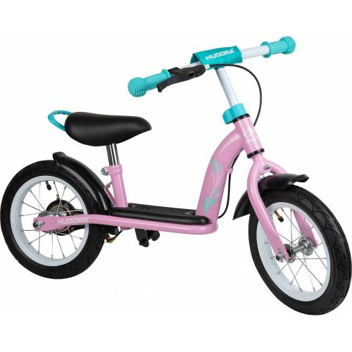 Hudora Laufrad »Laufrad joey Cruiser, 12 Zoll, rosa«, rosa