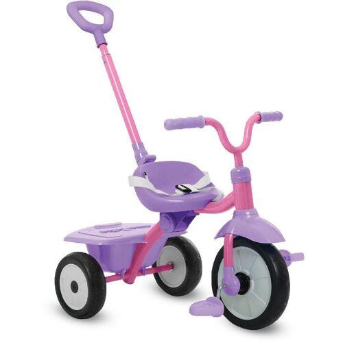 smarTrike® Dreirad »Folding Fun, pink«, mit Schubstange