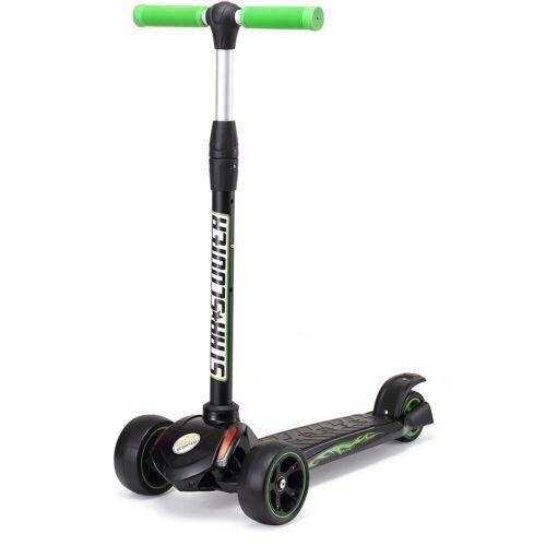 Star-Scooter Dreiradscooter, grün-schwarz
