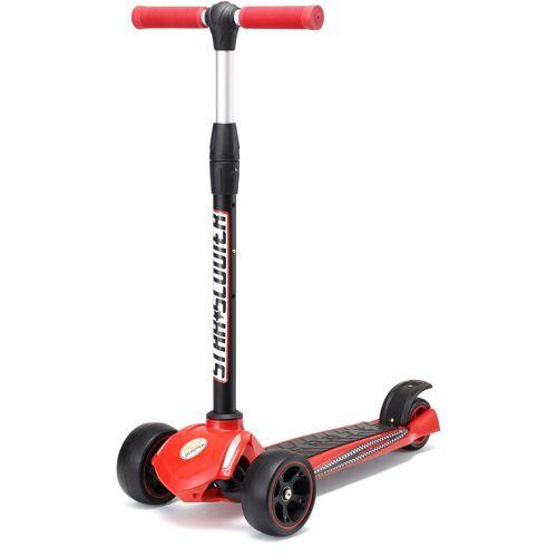 Star-Scooter Dreiradscooter, rot-schwarz