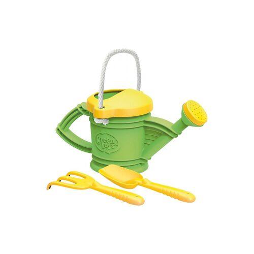 Gießkannen-Set, 2-tlg., gelb/grün