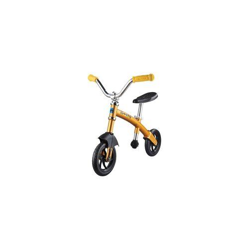 Micro Laufrad G-Bike Chopper deluxe, gelb, gelb