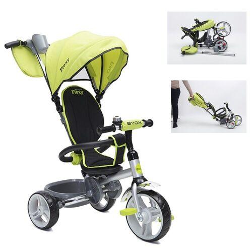 Moni Dreirad »Tricycle Flexy 3 in 1«, Dreirad, Lenkstange, Sonnendach, Korb, klappbar