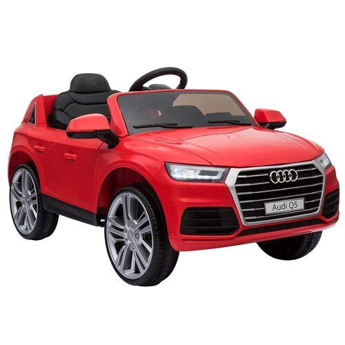 HOMCOM Elektro-Kinderauto »Audi Q5 Kinderauto mit Fernbedienung«, rot