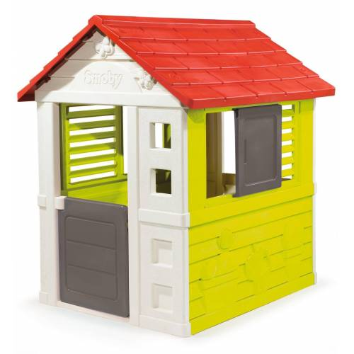 Smoby Spielhaus Natur, Made in Europe