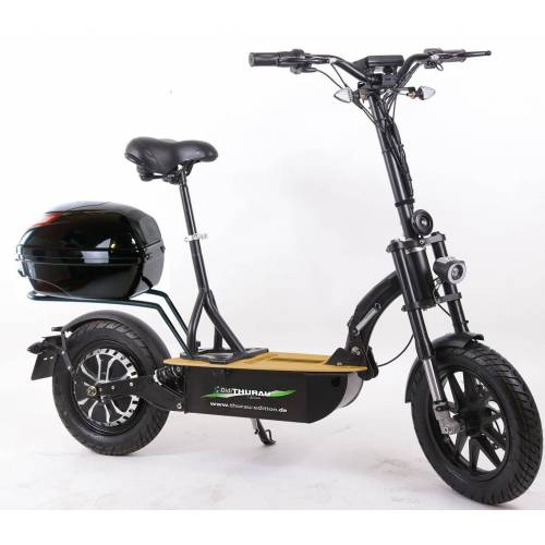 "Didi THURAU Edition E-Scooter »Elektroroller ""Eco-Tourer"" 20 km/h Safety Plus«, 600 W, 20 km/h"