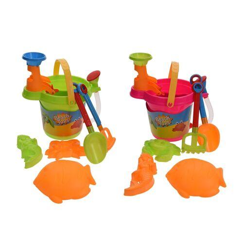HTI-Living Sandspielzeug 8 tlg., Bunt