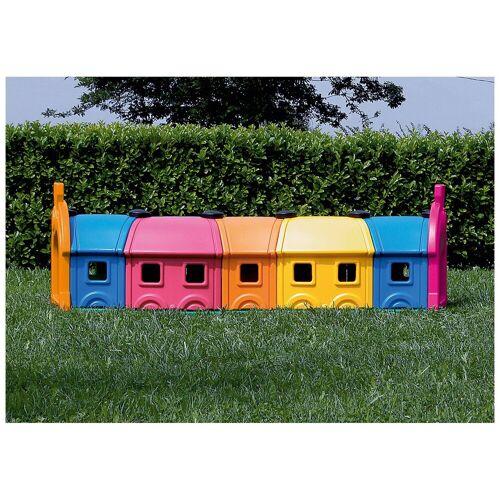 Wagon Toy 5 Waggons, bunt