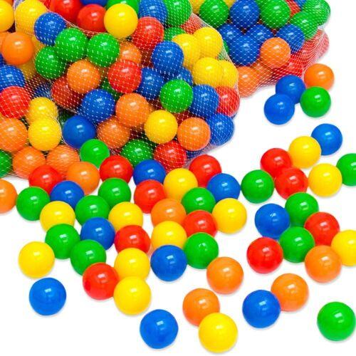 LittleTom Bällebad-Bälle »1000 bunte Bälle für Bällebad 5,5 cm Babybälle«, Plastikbälle Bälle Spielbälle