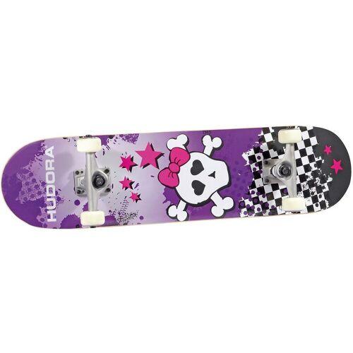 Hudora Skateboard »Skateboard Skull, ABEC 5«