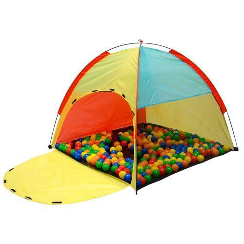 LittleTom Spielzelt »Spielzelt Kinderzelt Bällebad Zelt für indoor/outd« Kinderspielzelt inkl. Tasche