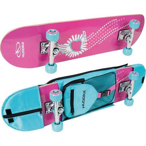 Hudora Skateboard »Skateboard Skate Wonders mit Rucksack«